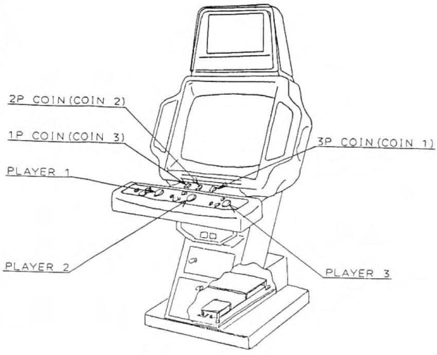 Jamma Street Fighter 2 Wire Harness